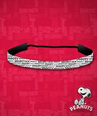 Peanuts - Woodstock & Snoopy Stay-Put Headband