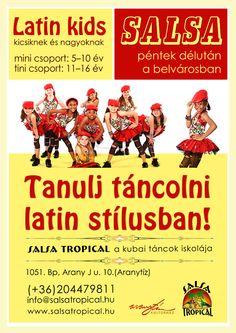 salsa for kids www.salsatropical.hu