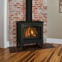 Gas Stove Fireplace, Wood Stove Hearth, Fireplace Doors, Direct Vent Gas Stove, Direct Vent Gas Fireplace, Log Burner Living Room, Living Room With Fireplace, Free Standing Gas Stoves, Pellet Stove Inserts