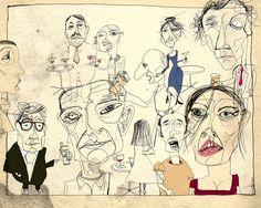 Official Website of Illustrator Lewis Rossignol