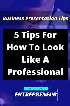 Check out my 5 business presentation tips for how to look like a professional and watch your customers take you more seriously and sales increase.