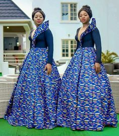 Look at this Classy traditional african fashion African Bridesmaid Dresses, African Wedding Dress, African Print Dresses, African Dress, African Clothes, African Prints, African Weddings, Maxi Dresses, African Fashion Designers