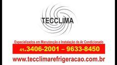 Ar-Condicionado em Curitiba - PR - 3406-2001 - Tec Clima