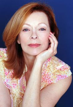 English born, red headed American film and television actress, Frances Fisher