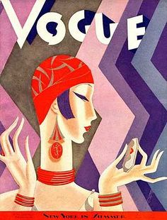 Beautiful vintage 1920s fashion style posters Source: http://mylusciouslife.com/