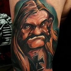 #LEMMY from @officialmotorhead done by @skinlabtattoo