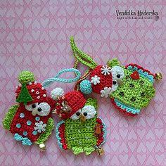 Ravelry: Christmas owl pattern by Vendula Maderska
