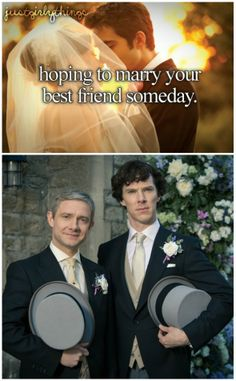 As much as I adore Amanda Abbington, this makes sense.  I think Mrs. Hudson always hoped for this union as well.