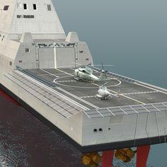USS Zumwalt Class Destroyer | 3ds max uss zumwalt ddg-1000 destroyers - Destroyer USS Zumwalt DDG ...