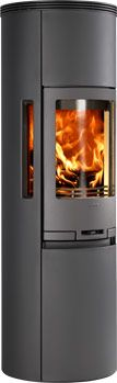 Stove Contura 590 with louvred steel top