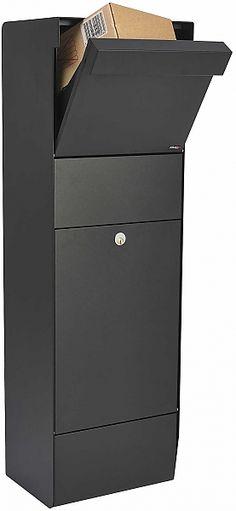 QualArc Grandform Parcel Receiving Box Locking Mailboxes | seattleluxe.com