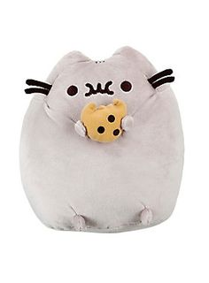"""<p>Pusheen couldn't wait to try this chocolate chip cookie. If you want some, hopefully you don't mind that it's missing a bite!</p>  <ul> <li>8"""" x 9""""</li> <li>Imported</li> </ul>"""