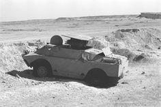 9P122 abandoned at Sinai Front 1973 Yom Kippur War.
