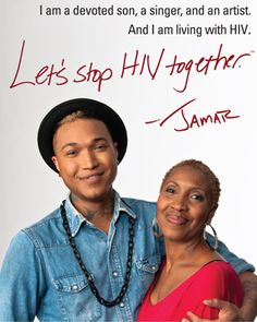 'Let's Stop HIV Together' Jamar Rogers