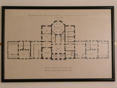 Plan of Basildon Park