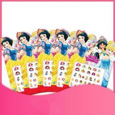Frozen 2 Elsa Anna Disney Sofia White Snow Princess Nail Stickers