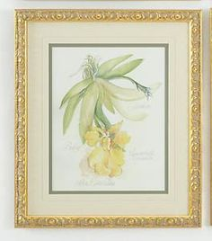 Yellow Flower Framed Wall Art $195.00 (USD).  Product in photo is from www.wellappointedhouse.com