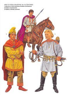 византийская армия в сирии и палестине 6-7 века