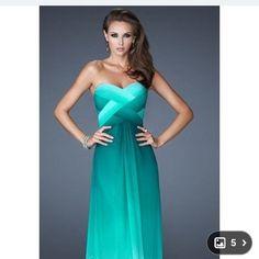 Fancy Blue/Green Dress