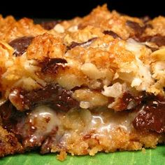 Zupa's Million Dollar Bars (but minus the coconut for me)