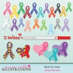 Dare to Care Awareness Clipart