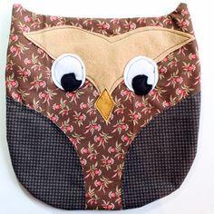 Come fare una borsa portalibri a forma di civetta