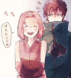 Sakura and Sasori