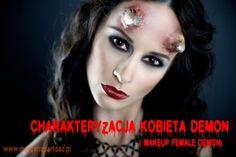 charakteryzacja, demon, makeup demon, makeup artist Demon Makeup, Female Demons, Artist, Movie Posters, Film Poster, Popcorn Posters, Film Posters, Posters, Artists
