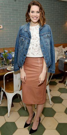 Una prenda para todos los climas: The Pencil Skirt ::: Falda Lápiz