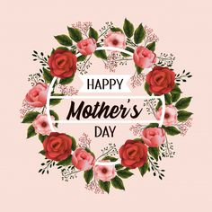 Mothers day celebration with flowers plants Premium Vector Mothers Day Flowers Images, Happy Mothers Day Pictures, Happy Mothers Day Wishes, Happy Birthday Quotes For Friends, Mothers Day Decor, Happy Mother's Day Greetings, Happy Mother's Day Card, Mothers Day Quotes, Mothers Day Cards