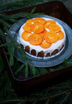 Clementine cake by Call me cupcake, via Flickr