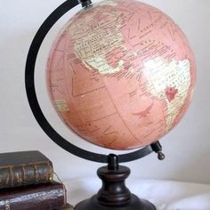 Imagen de pink, world, and globe