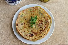 Hot Pot Cooking: Aloo paratha (bread with potato stuffing)
