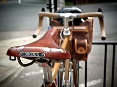 5c2a49c4389 A Brooks saddle is currently my most coveted bicycle item...perfection  beyond perfection