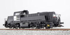 ESU 31151 Diesel Locomotive MRCE Black Ep VI Vapor and Sound AC OD DC