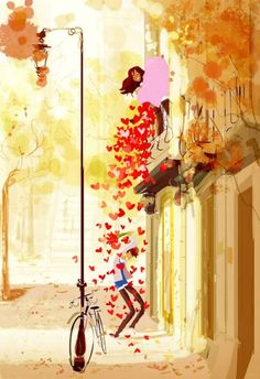 The Emotional Art Illustrations by Pascal Campion Art And Illustration, Art Illustrations, Illustration Pictures, Art Amour, Pascal Campion, Art Mignon, Couple Art, Belle Photo, Love Art