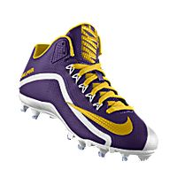 This shoe supports the Minnesota Vikings.