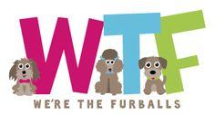 Pet Business Logo Design For: WTF - (Singapore) by Sniff Design Studio  I #PetBusinessLogo I #PetLogoDesign I #PetBranding  I #DogBranding I #PetBrandIdentity  I #DogCafeLogo I #PetCafeLogoDesign I #ColorfulLogoDesign I #WhimsicalLogoDesign I #PlayfulLogoDesign I #SniffDesignStudio