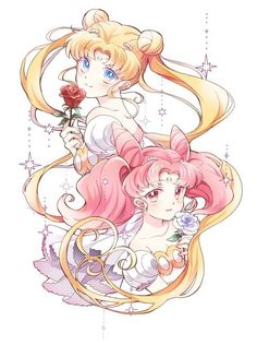 Sailor Moon & Sailor Mini Moon | Usagi & Chibiusa