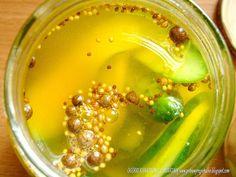 PotrawyRegionalne: OGÓRKI KANAPKOWE W SŁODKO OCTOWEJ ZALEWIE Z KURKUMĄ Pickles, Cucumber, Cooking, Food, Kitchen, Essen, Meals, Pickle, Yemek