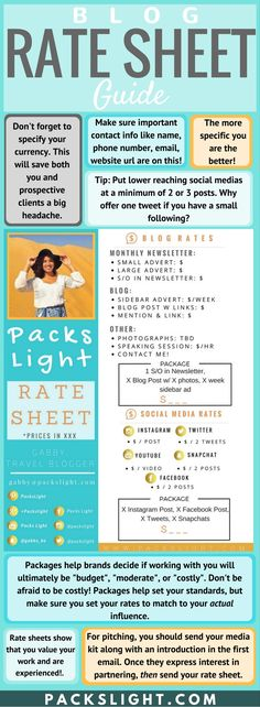 Learn why having a rate sheet is a huge part of monetizing your blog! Also see tips on what you need to include in yours, pricing, pitching advice, etc.  And take a peek at my own rate sheet!