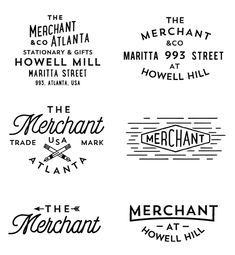 The Merchant on Behance