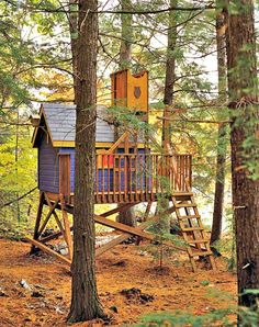 How to Build a Treehouse     http://diyhomesweethome.com/how-to-build-a-treehouse/