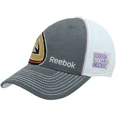 NHL Reebok Anaheim Ducks Hockey Fights Cancer 2012 Draft Flex Hat - Charcoal/White (Large/X-Large) by Reebok. $23.95. Reebok Anaheim Ducks Hockey Fights Cancer 2012 Draft Flex Hat - Charcoal/WhiteOfficially licensed NHL product84% Nylon/14% Cotton/2% PolyurethaneImportedStructured fitQuality embroidery84% Nylon/14% Cotton/2% PolyurethaneStructured fitQuality embroideryImportedOfficially licensed NHL product