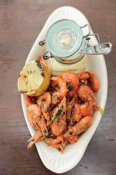 Salt Tapas & Bar Singapore   ladyironchef: Food & Travel {Crispy Soft Shell Prawns with Chilli and Garlic Aioli}