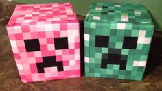 Can a Minecraft Creeper be pink? Of course it can! Here's how to make your kid a Pink Creeper costume for Halloween.
