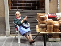A Nonna in Genoa  http://www.amazon.com/La-TAVOLA-Adventures-Misadventures-American/dp/1463618123/ref=tmm_pap_title_0