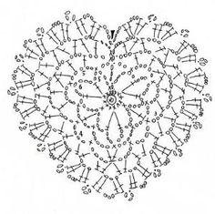 Crochet Heart by Merian Kamal