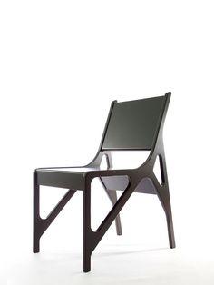 cadeira contemporânea geométrica
