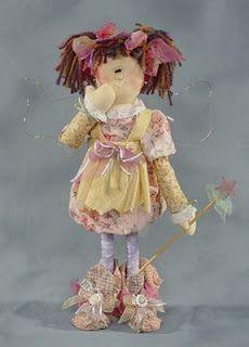 Coisinhas de Pano: boneca de pano